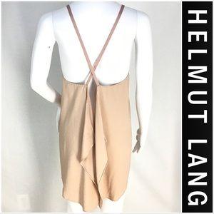 Helmut Lange Open Back Top Medium MINT